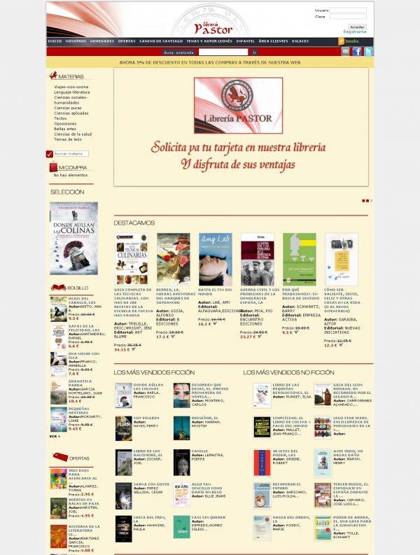Librería Pastor