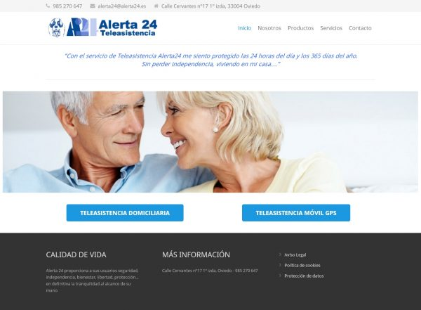Alerta 24 Teleasistencia permanente