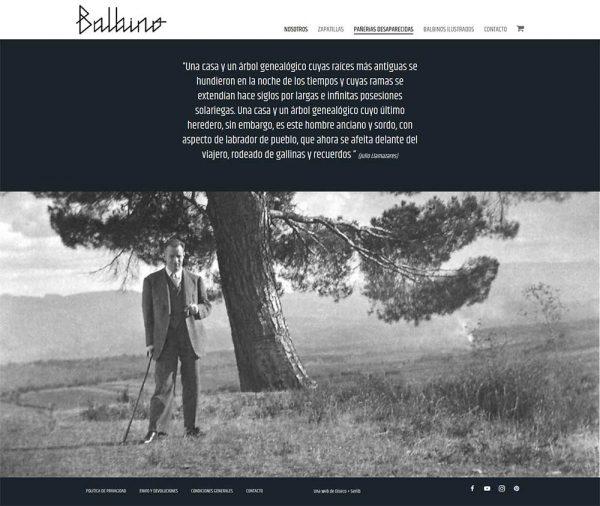 Zapatillas Balbino